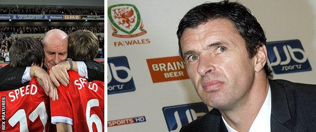 Roger Speed with his grandsons, plus Gary Speed