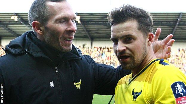 Michael Appleton and Chris Maguire