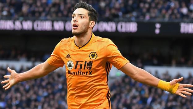 Jimenez winner at Tottenham sends Wolves sixth