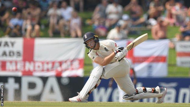 England batsman Jos Buttler plays a sweep shot against Sri Lanka