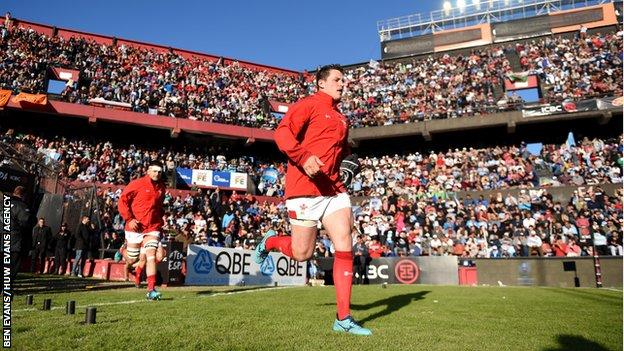 Hooker Ryan Elias won the last of his five Wales caps against Argentina in June 2018