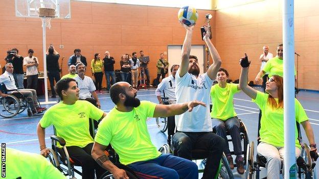 Disability Korfball players
