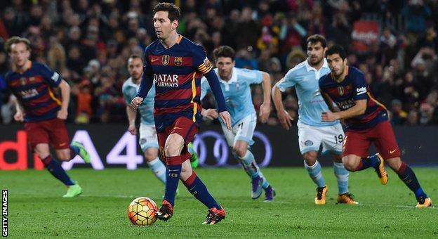 Barcelona beat Celta Vigo