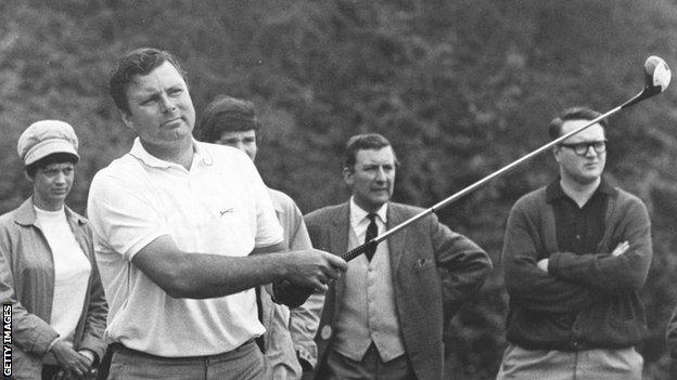 Peter Alliss obituary: Wit, whimsy and golf gravitas - a colossus of the sport and broadcasting - BBC Sport