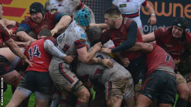 Jersey could not keep out Doncaster's late maul