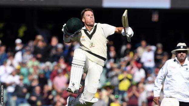 David Warner: Australia opener scores 335 against Pakistan