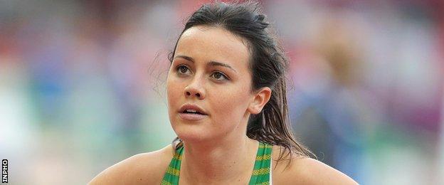 Ballymena & Antrim athlete Christine McMahon