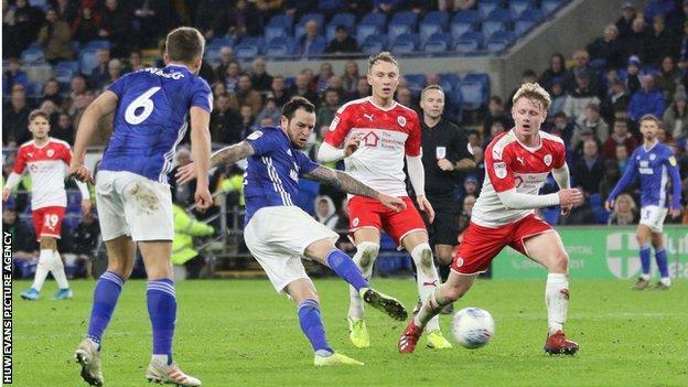 Lee Tomlin scored Cardiff's winner