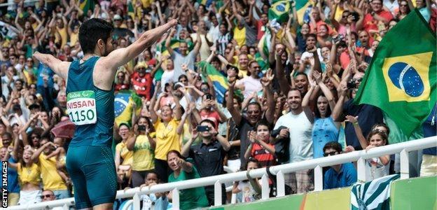 Brazil's Yohansson Nascimento