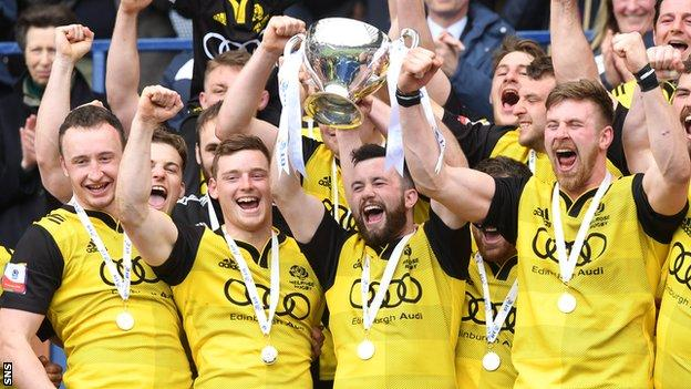 Melrose lift the BT Cup