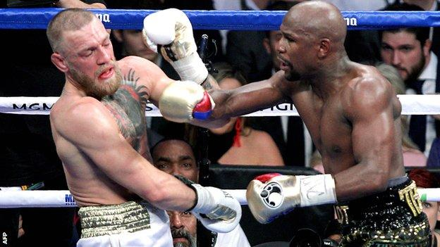 Conor McGregor lost to Floyd Mayweather