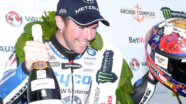 Alastair Seeley grabbed a hat-trick of wins at the North West 200 in May to draw level with Robert Dunlop as the most successful competitor at the Triangle circuit with 15 victories
