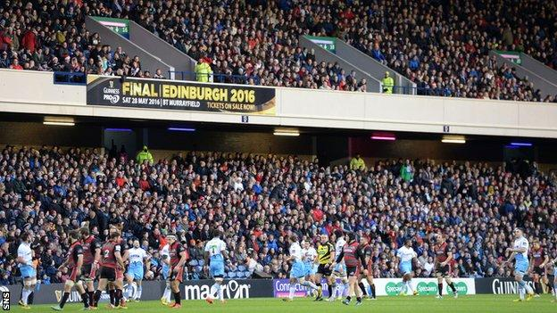 Edinburgh v Glasgow Warriors