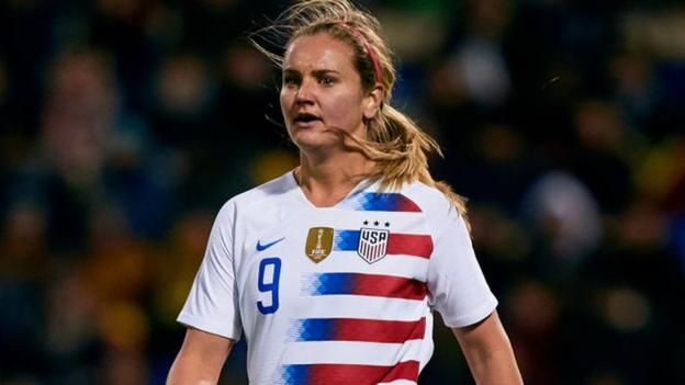 Women's World Cup 2019: Lindsey Horan says USA thrive on pressure thumbnail