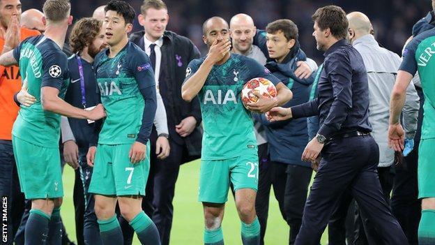 Tottenham striker Lucas Moura