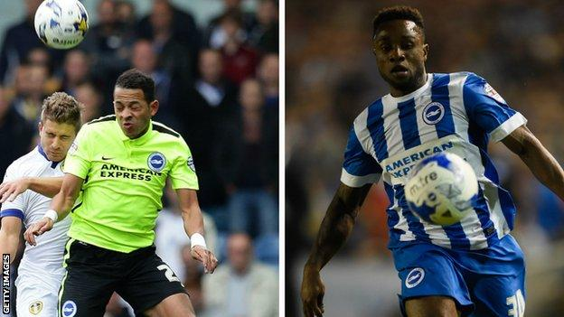 Liam Rosenior and Kazenga LuaLua