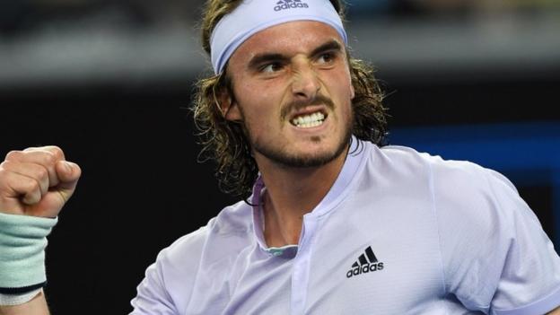 Australian Open: Stefanos Tsitsipas into third round after opponent withdraws thumbnail