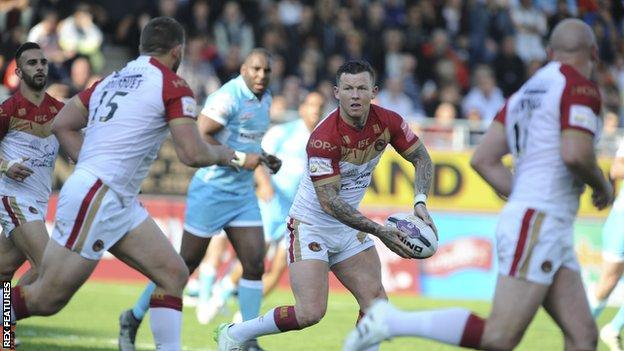 Catalans Dragons' Todd Carney