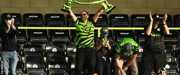 Forest Green Rovers fans