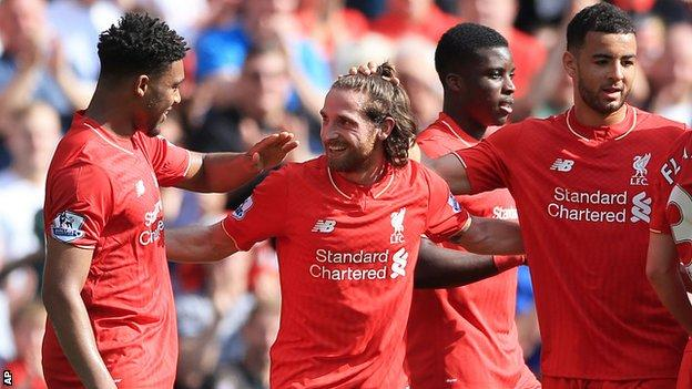 Joe Allen has been involved in two goals in his past three league appearances (scored one, assisted one) which is as many as in his previous 36