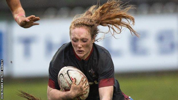 Cardiff Blues back-row Abbie Fleming made her Wales debut in November 2019 against Spain