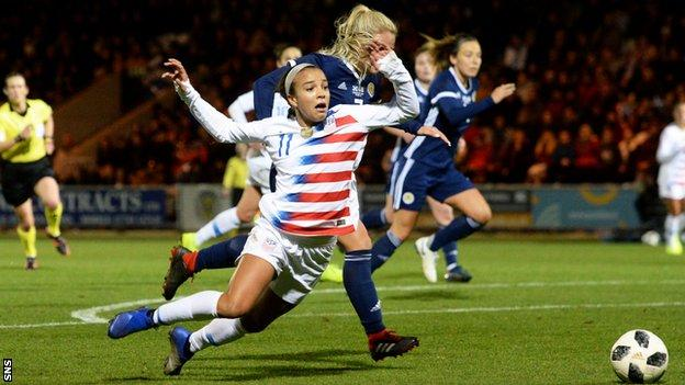 Kirsty Smith and Mallory Pugh
