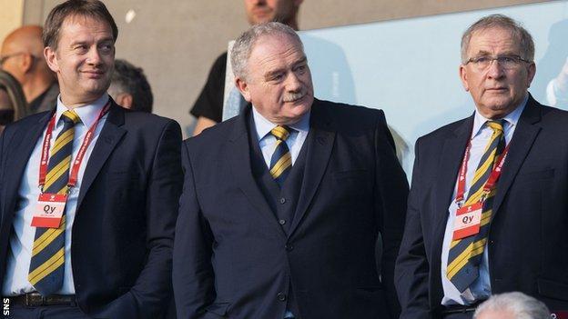 Ian Maxwell, Rod Petrie, Alan McRae