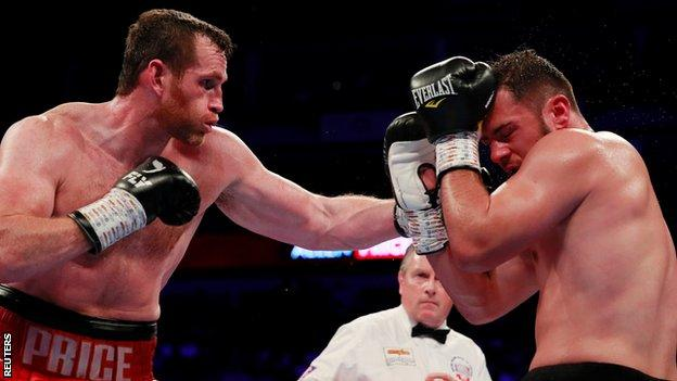 Price dominated over 10 rounds to force Allen to retire