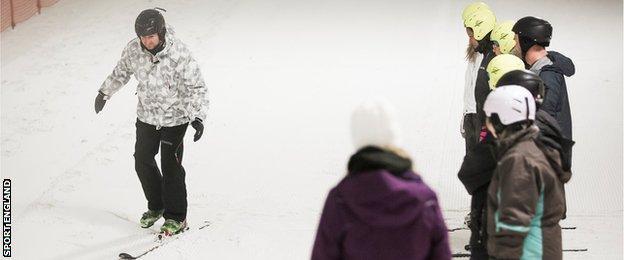 skiing coaching