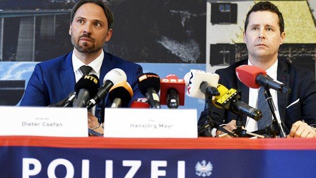 Dieter Csefan and Hansjoerg Mayr