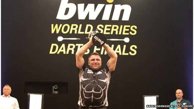 Gerwyn Price is the 2020 World Series of Darts Finals champion.