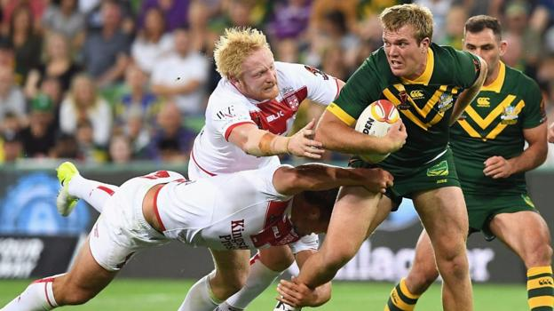 Rugby league world cup 2017 australia 18 4 england highlights bbc sport - English rugby union league tables ...