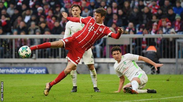 Bayern Munich 3-0 Eintracht Frankfurt - BBC Sport