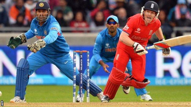 England v India from the 2013 Champions Trophy