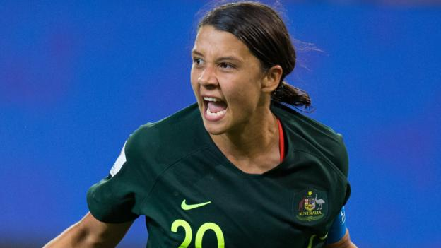 Meet Women's Footballer of the Year nominee Sam Kerr