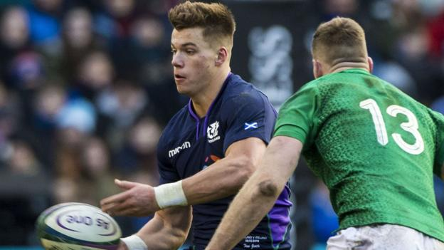 Scotland's Huw Jones 'unlikely to play' again in Six Nations 2019 after injury thumbnail