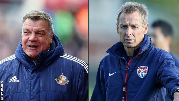 Sam Allardyce and Jurgen Klinsmann