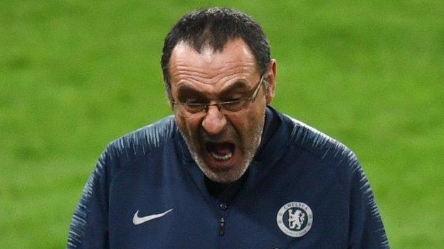 Has Maurizio Sarri been fatally undermined by Kepa Arrizabalaga's cup final defiance? thumbnail