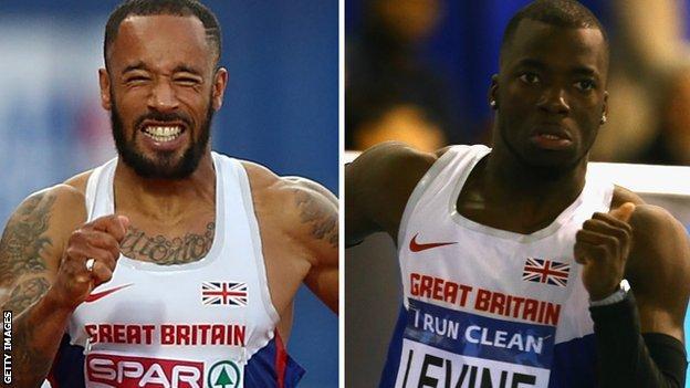 James Ellington (left) and Nigel Levine
