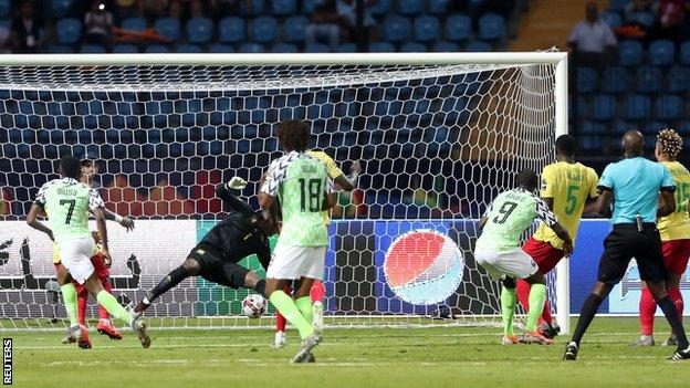 Nigeria are three-time winners of the Africa Cup of Nations - last winning it in 2013