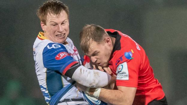 European Rugby Champions Cup: Ulster beat Scarlets 30-15 to complete double thumbnail