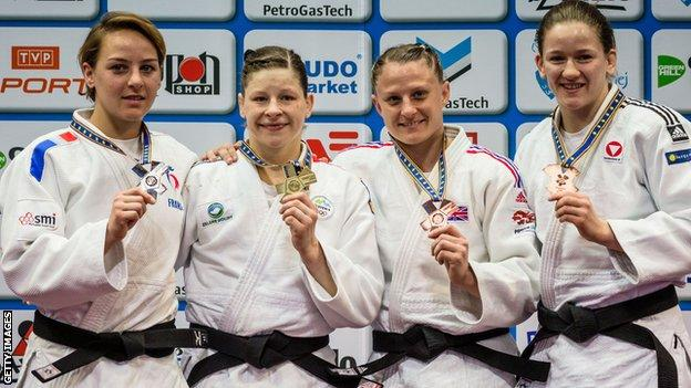 GB's Alice Schlesinger wins bronze