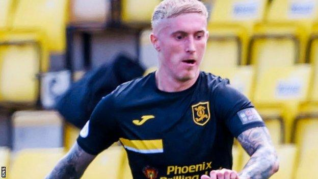 The Livingston midfielder stood out with his work on and off the ball