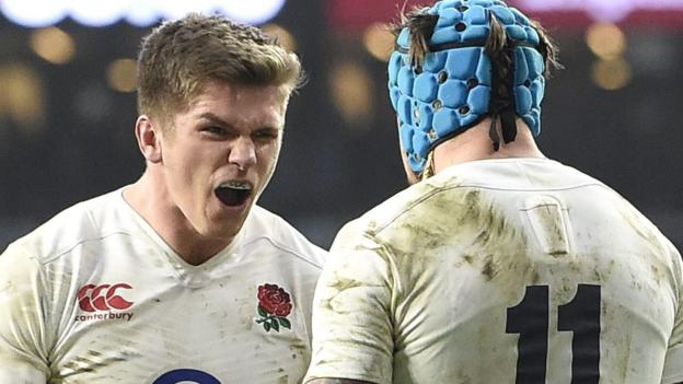 Six nations 2016 england 25 21 wales bbc sport - English rugby union league tables ...