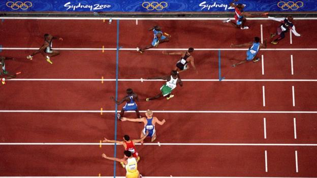 2000 Sydney Olympics men's 4x400m final
