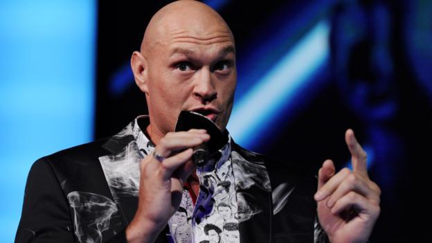 Tyson Fury 'living life like a training camp' before Tom Schwarz fight in Las Vegas thumbnail