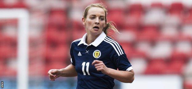 Suzanne Grant has over 100 caps for Scotland