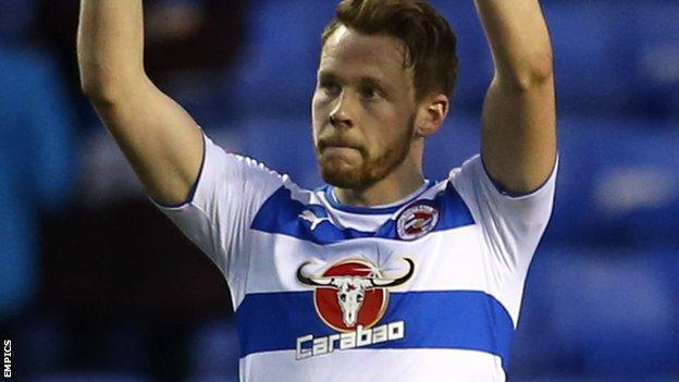 Reading and Wales defender Chris Gunter