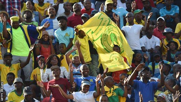 Mamelodi Sundowns fans