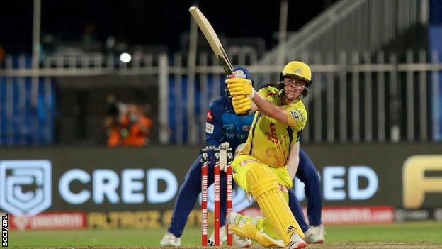 England and Chennai Super Kings Sam Curran